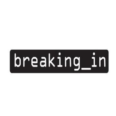 Breaking in tv logo