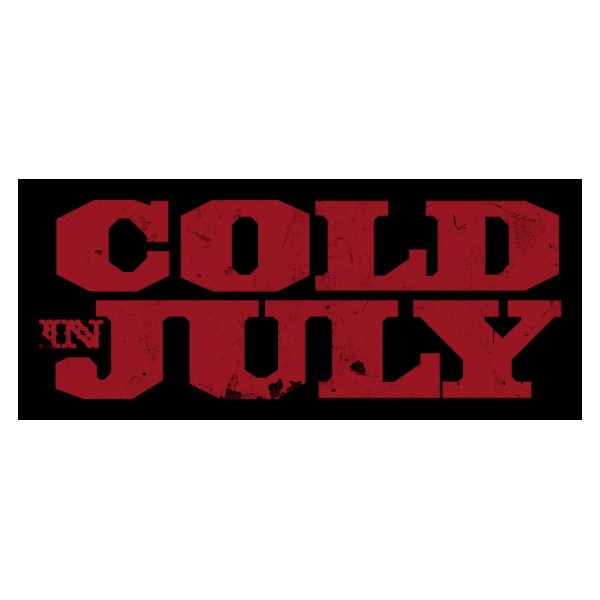 Cold in July movie logo