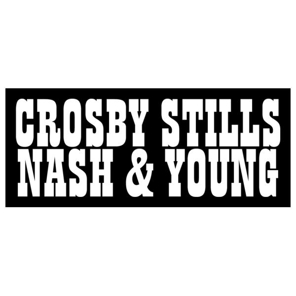 Crosby, Stills, Nash & Young MUSIC LOGO