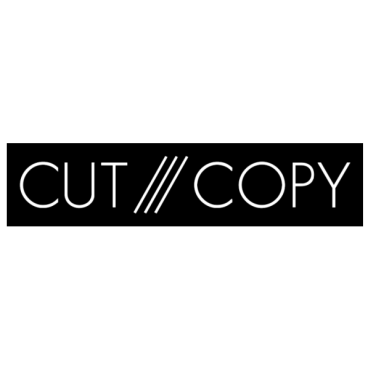 Cut Copy music logo