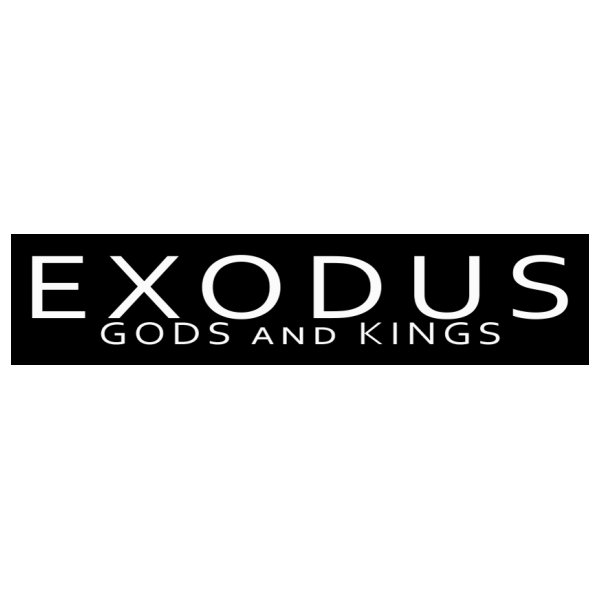 Exodus Gods and Kings movie logo