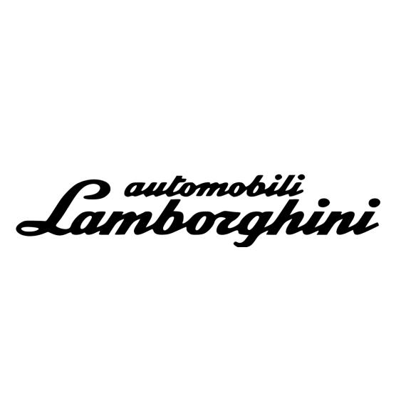 шрифт lamborghini
