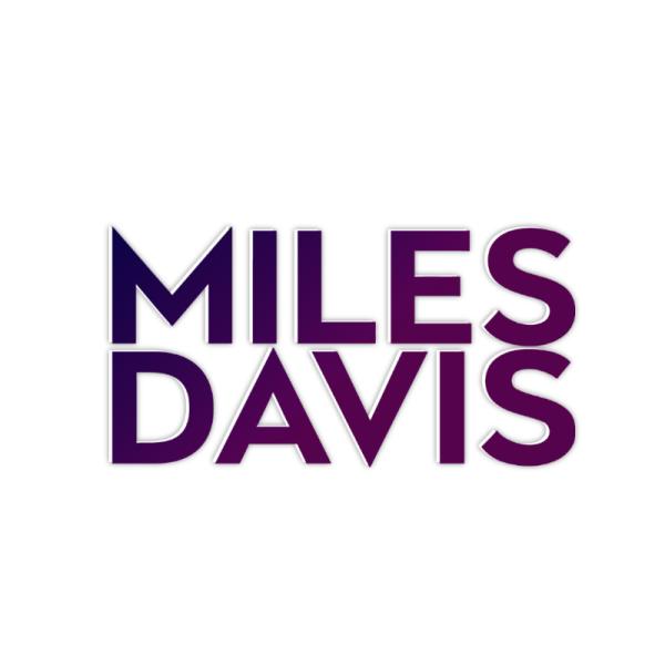 Miles Davis music logo