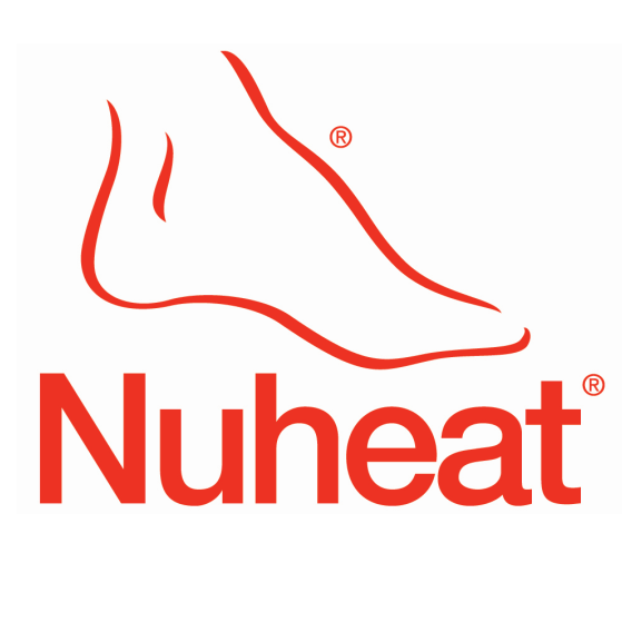 Logo Using Font Font Used For Nuheat Logo