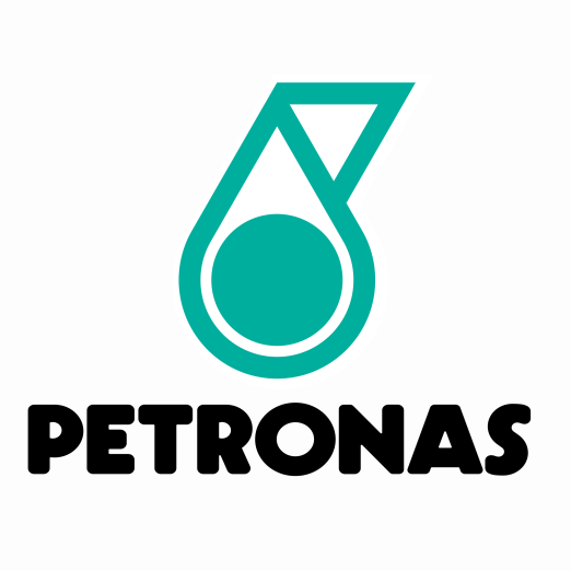 What s the font used for petronas logo