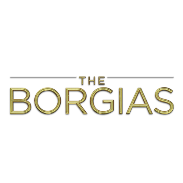 The Borgias TV logo