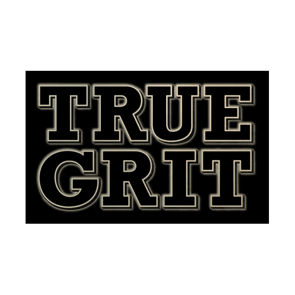 True Grit movie logo