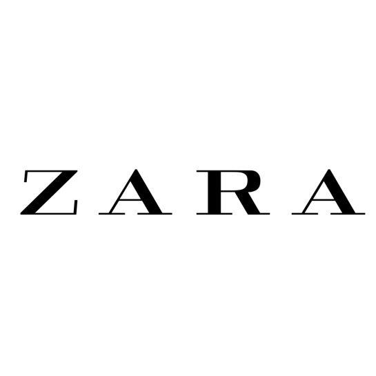 what s the font used for zara logo