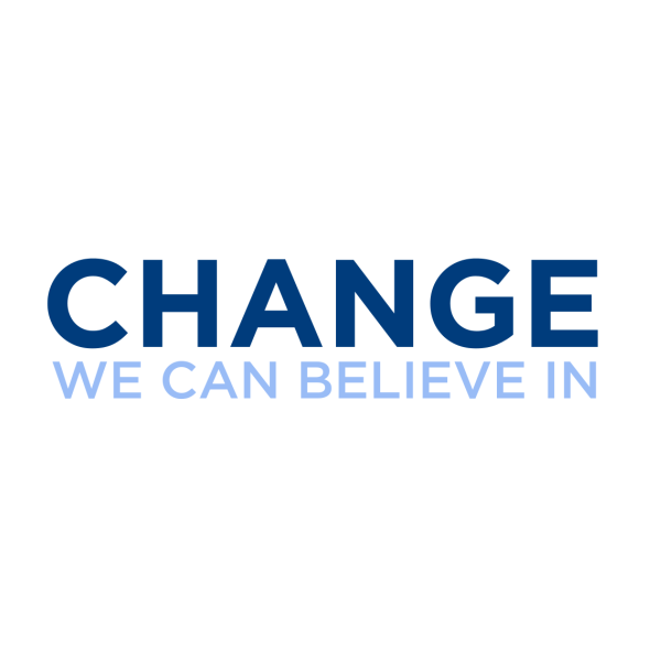 change we can believe in logo