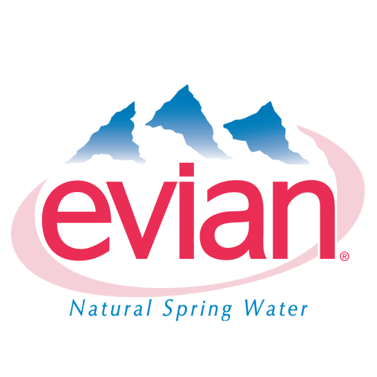 evian logo Gallery
